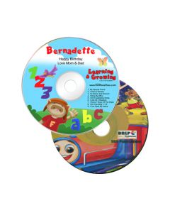 Animated kids' cds/softwares