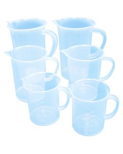 Measuring Beakers & Jugs (set Of Five)
