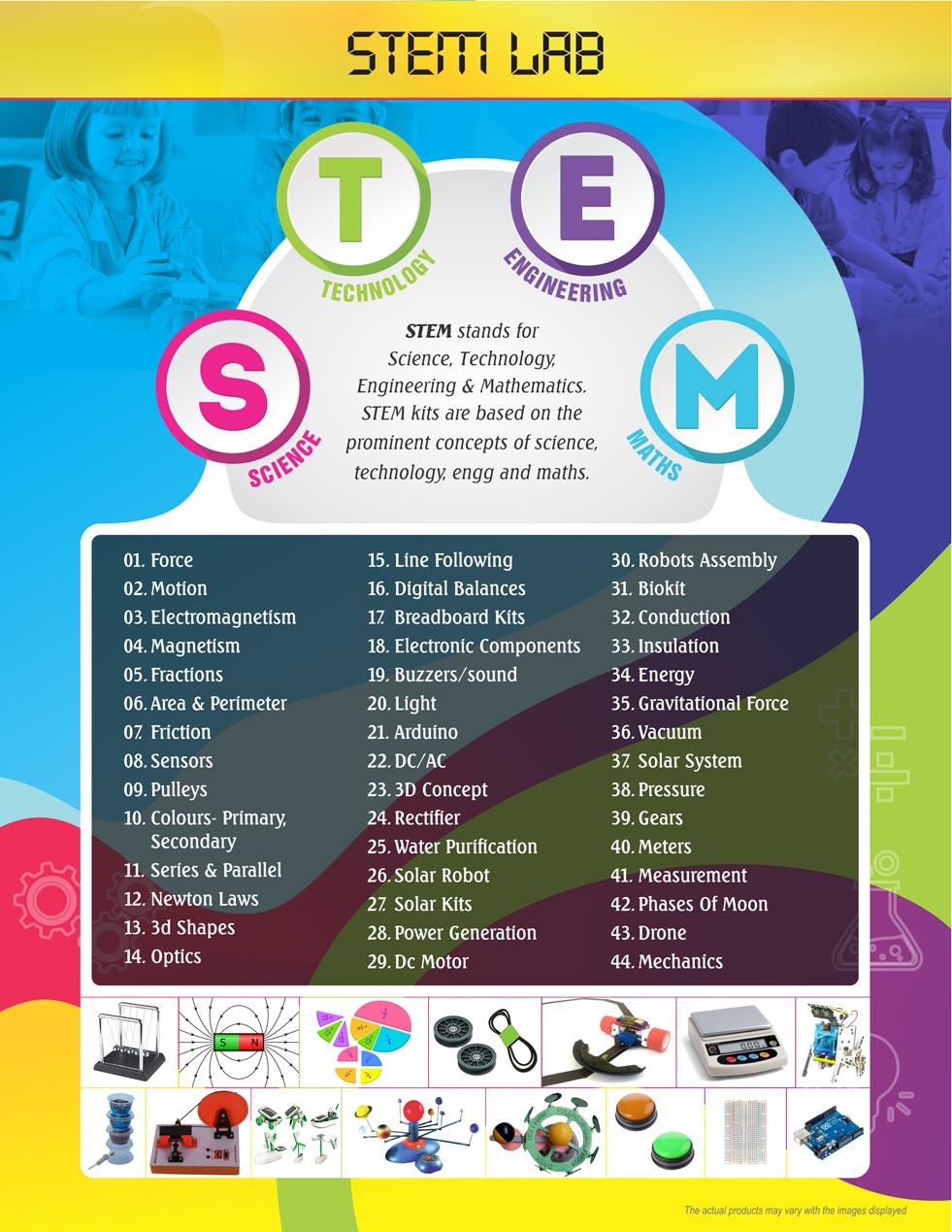 Stem Lab (Science, Technology,  Engineering & Mathematics)