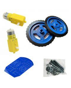 4 Wheel Robot Car Chassis Kit