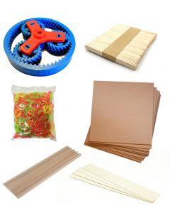 Set of Arts & Crafts Accessories